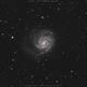 M101 The Pinwheel Galaxy LRGB,                                Salvatore Cozza