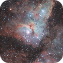Carina RC8 test on a 7 fwhm sky,                                Diego Colonnello