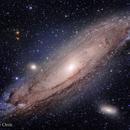 Andromeda Galaxy - M31,                                Philippe Oros