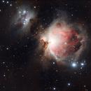 M 42 La nébuleuse d' Orion,                                Frédéric THONI