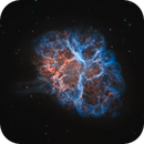 M1 • Brain Stem of the Crab Nebula (HOO),                                Douglas J Struble