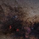 """""""Tail"""" of Scorpius Deep Sky Objects,                                Fabiano B. Diniz"""