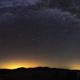 Vía Láctea en los Campos de Hernán-Pelea,                                Máximo Bustamante
