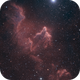 Ghost Nebula (IC63) reprocessed in HOO/RGB,                                Jean-Baptiste Auroux