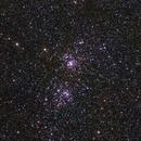 Double Cluster,                                Justin Katsinis