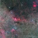 Wide field view towards star-forming nebula NGC 3603,                                Nikola Nikolov