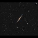 Needle Galaxy (NGC4565): First light in a short night,                                Göran Nilsson