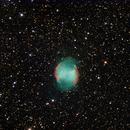 M27 The Dumbell Nebula,                                Marc Silva