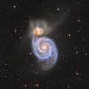 M51 - Whirlpool Galaxy,                                Adam Landefeld