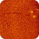 2016.08.28 Sun AR2581 AR2582 H-Alpha,                                Vladimir