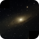 Two Image Mosaic of Andromeda Galaxy,                                Chappel Astro
