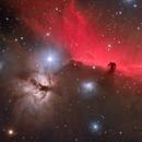 Horsehead and Flame Nebula in HaLRGB,                                Harry Zampetoulas