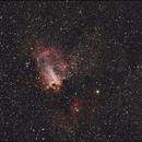 Omega Nebula - M17,                                TC_Fenua