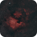 NGC 7000 North America Nebula - IC 5070 Pelican Nebula HaRGB,                                xs4allan