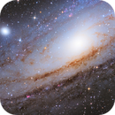 M31 core region in HaLRGB,                                Peter Kurucz