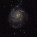 M101 - 20200621 - Meade2045D at F4,                                altazastro