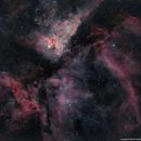 Eta Carinae (HaRGB),                                Chris Smith