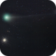 Comet C / 2020 F3 and the M53 and NGC5053 clusters,                                Adriano