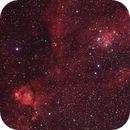 IC1795 and Melotte 15 (Parts of the Heart Nebula),                                Phil Hosey