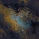 M16 - The Eagle Nebula,                                Josh Woodward