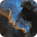 The Cygnus Wall, NGC 7000, SHO,                                Alexander Sorokin