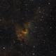 Cave nebula in SHO palette,                                Janos Barabas