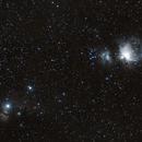 Orion's Nebulae,                                Sirio Negri