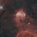 NGC3324 with OCS camera & Duo filter,                                Chris Vaughan