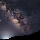 Milky Way over Crete,                                astrodan