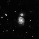 M51 - 20190507 - ST80,                                altazastro