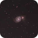 M51 Whirlpool Galaxy,                                Coriorda