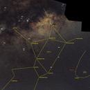Sagittarius - Corona Australis- Telescopium - Jupiter - Saturne - Messier Objects,                                Harold Freckhaus