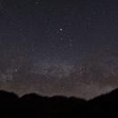 Milky Way rising over the Fish Creek Mountains,                                Dan Watt