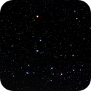 Mel 111 - Coma star cluster + the Needle galaxie (I),                                AC1000