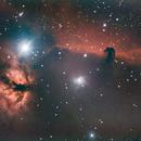 Horse head and Flame Nebulae,                                Faris Al Said
