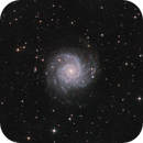 M74  Phantom galaxy -  another splendid Spiral - version  LRGB,                                Arnaud Peel