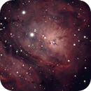 Lagoon Nebula  1459  5 Sec Subs,                                TSquasar