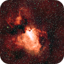 M17 Omega Nebula,                                Bob Spannagel
