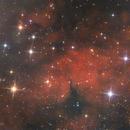 LBN 249 in Gamma Cygni,                                U-ranus