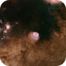 M6 with Sh2 15 thru Sh2 21 Front and Center and a massive hydrogen cloud between them all,                                hbastro