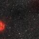 IC 5146 Cocoon Nebula - SHO - ASI1600MM - MyT,                                Rowland Archer