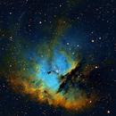 NGC 281 Pacman Nebula SHO Narrowband - Esprit 120 - ASI1600MM,                                Rowland Archer