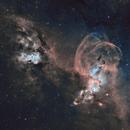 NGC3576 Statue of Liberty Nebula, Hubble Palette,                                Todd