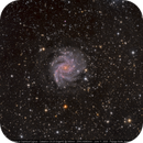 NGC 6946 The Fireworks Galaxy (HaLRGB),                                Michael Feigenbaum