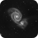 M51 Luminance Only,                                Perry Muir