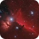 The Flame and Horsehead in HaRGB,                                Arun H.