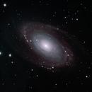 M81 Bode's Galaxy,                                DustSpeakers