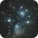 The Pleiades (Messier 45) with OSC,                                Nasdaq76