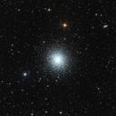"""M 13 - The Great Globular Cluster In Hercules,                                Sebastian """"BastiH..."""