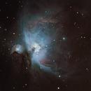 La nébuleuse d'Orion en moins de 20min,                                Nicolas JAUME
